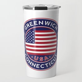 Greenwich, Connecticut Travel Mug