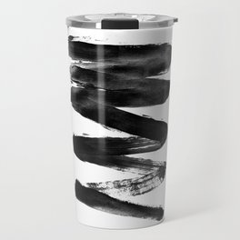 Black Lightning Travel Mug