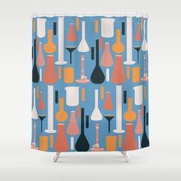 Laboratory Glassware No. 3 Shower Curtain