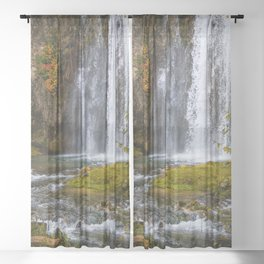 Spearfish Falls Sheer Curtain