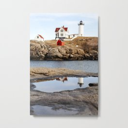 Nubble Light, York, Maine Metal Print