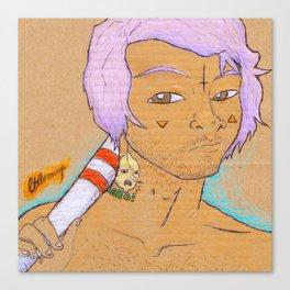 FLURO BOY Canvas Print