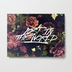 Lost in the world Metal Print