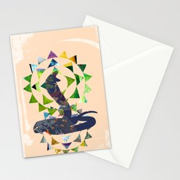 Chinese Lunar New Year and 12 animals  ❤  The SNAKE 蛇 Stationery Cards