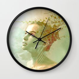 The spirit of the forgotten clearing Wall Clock