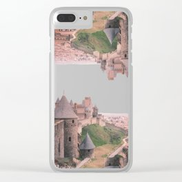 Chateau Photographic Pattern #1 Clear iPhone Case