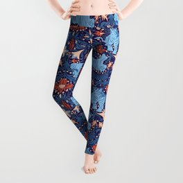 Floral Tiger Leggings