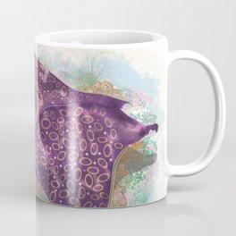 Colorful Ocean Manta Ray Coffee Mug