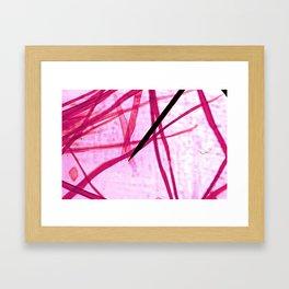 organic artsy Framed Art Print