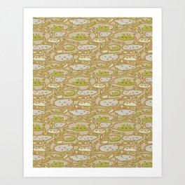 Genera Atta (Ant Farm) Art Print