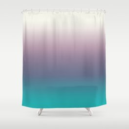 Ombré Ocean Shower Curtain