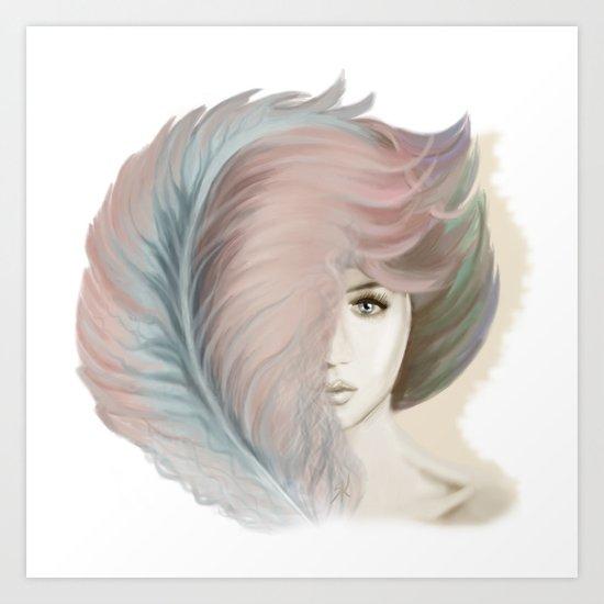 Airiness Art Print