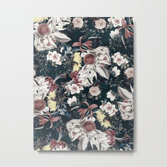 Flowers of Darkness Metal Print