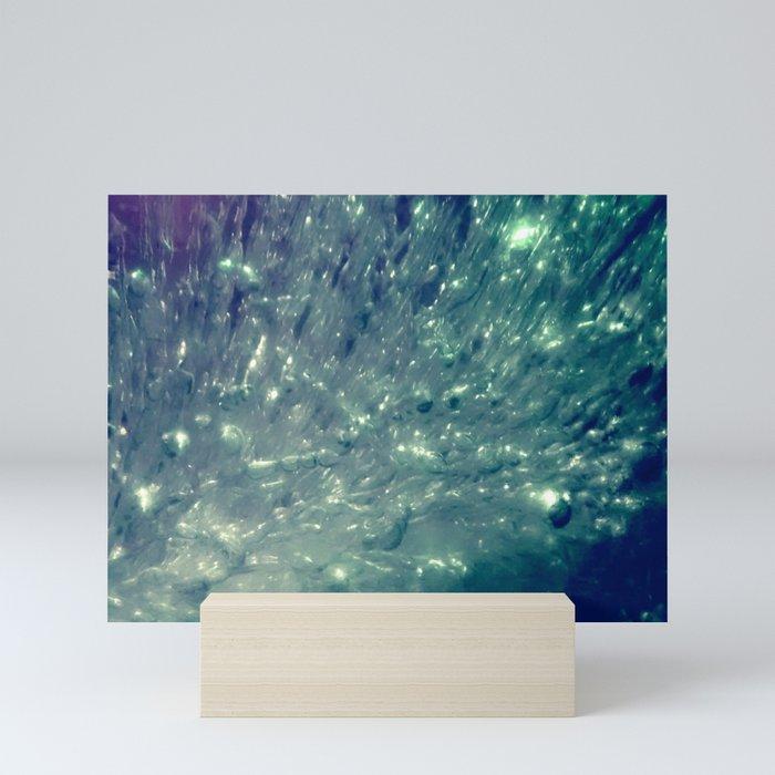 Ice Bubble Explosion Mini Art Print