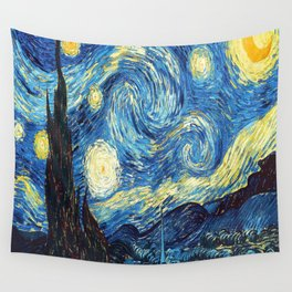 stary night re do Wall Tapestry