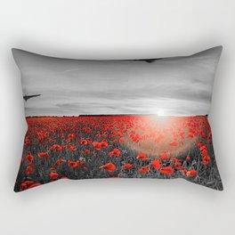 Poppy Vulcan's Isolated Rectangular Pillow