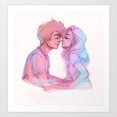Lilac Sky Art Print