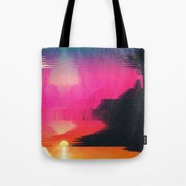digital beachhead Tote Bag