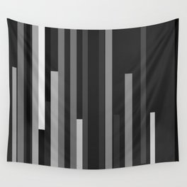 Black Lines Wall Tapestry