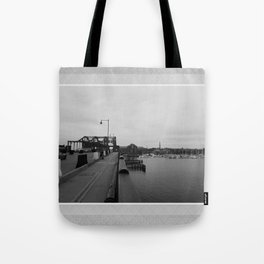 Across The World From Me Tote Bag