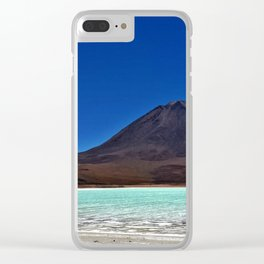 Laguna azul, Bolivia Clear iPhone Case