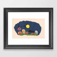 Pelus's Halloween Framed Art Print