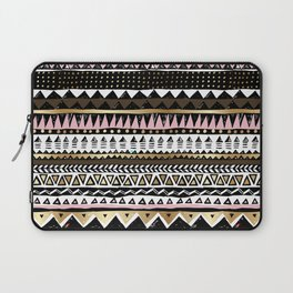 Boho Geometric Stripe Laptop Sleeve