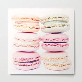 macarons Metal Print
