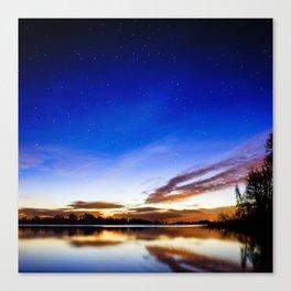 Colorful heaven Canvas Print