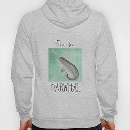 N is for Narwhal Hoody