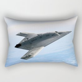 Northrop Grumman Stealth Fighter Rectangular Pillow
