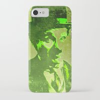 charlie chaplin iPhone & iPod Cases featuring Charlie Chaplin by Pedro Nogueira