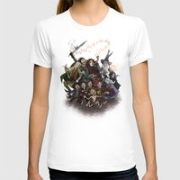 aragorn T-shirts featuring The Happy Fellowship by Ginger Opal