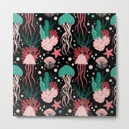Jellyfish Dreams  Metal Print