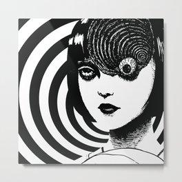 Azami Kurotani - Junji Ito The Spiral Metal Print