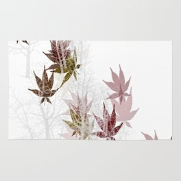 Leaves and Trees Rug