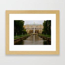 PETERHOF-SAINT PETERSBURG,RUSSIA  Framed Art Print