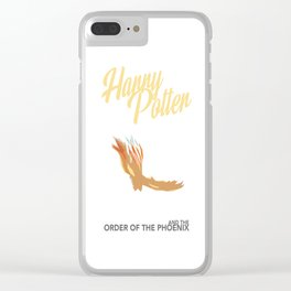 Order of the Phoenix Clear iPhone Case