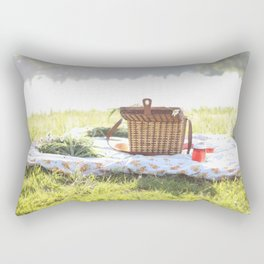 Summer Picnic Rectangular Pillow