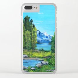 Spirit Island Clear iPhone Case