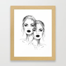 J A N E  &  J A N E Framed Art Print
