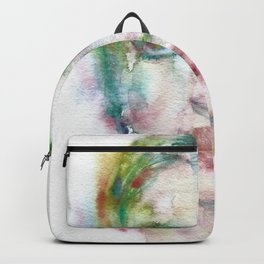 MARIA CALLAS - watercolor portrait Backpack