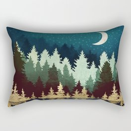 Star Forest Reflection Rectangular Pillow