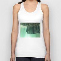 shower Tank Tops featuring Shower by Efua Boakye