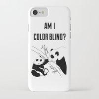 pandas iPhone & iPod Cases featuring Pandas by Raaz Herzberg