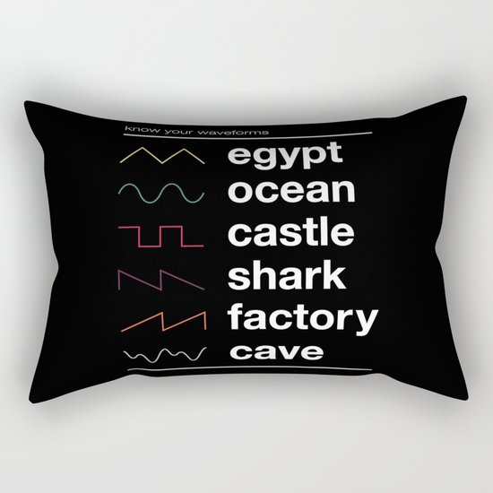Know your Waveforms Rectangular Pillow