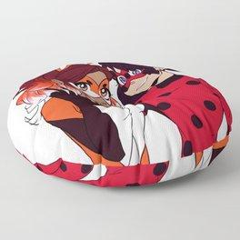Miraculous - Ladybug & Rena Rouge Floor Pillow