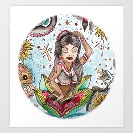"""""""Conchita"""" Art Print"""