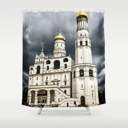 Dark clouds over Kremlin Shower Curtain