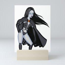 Selene, the vampire queen Mini Art Print